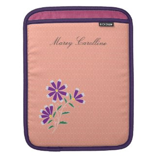 Tula Floral Batik iPad/Mac Book Air Sleeve