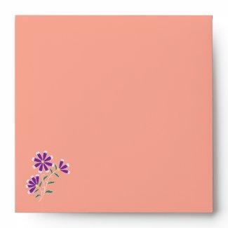 Tula Floral Batik Square Envelope
