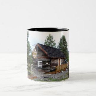 Tulameen BC Schoolhouse Museum Two-Tone Coffee Mug