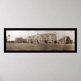 Tulane University LA Photo 1909 Poster