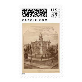 Tulare County Court House Postage