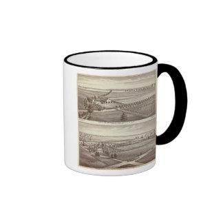 Tulare farms ringer coffee mug