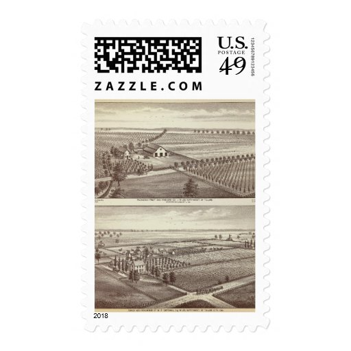 Tulare farms stamps