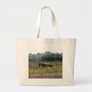 Tule Elk Large Tote Bag