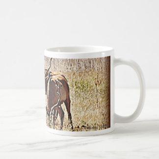 Tule Elk Classic White Coffee Mug