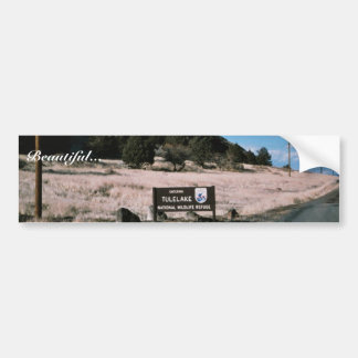 Tule Lake National Wildlife Refuge Car Bumper Sticker