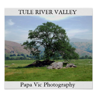 TULE RIVER VALLEY PÓSTER