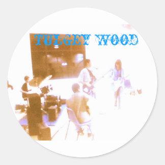 Tulgey Wood Classic Round Sticker