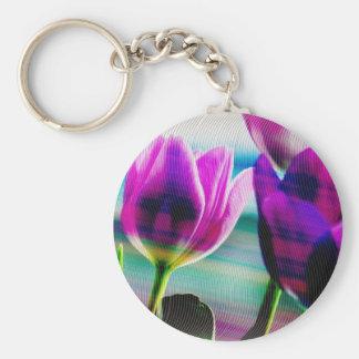 Tulip 1 keychain