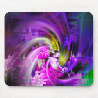 Tulip Abstract Mouse Pad