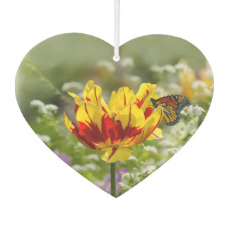 Tulip and Butterfly Air Freshener