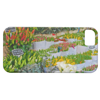 Tulip and Flower Market in Amsterdam iPhone SE/5/5s Case