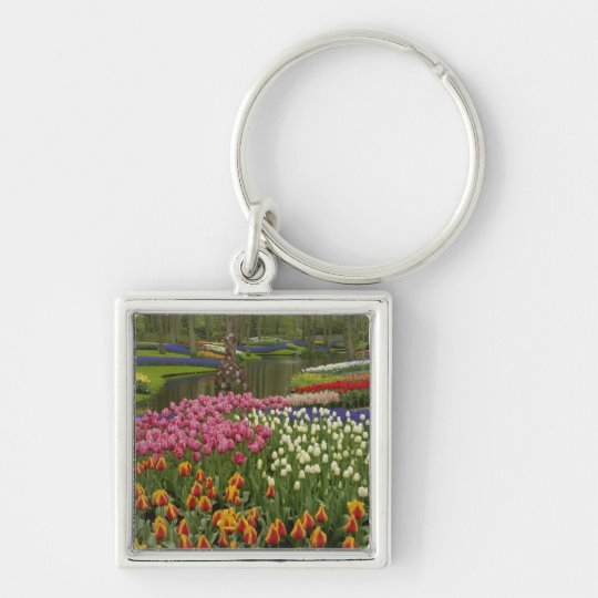 Tulip and hyacinth garden, Keukenhof Gardens, Keychain