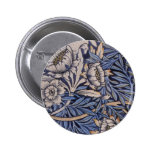 Tulip and Willow Pinback Button