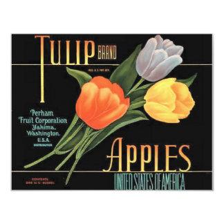 Tulip Apples Card