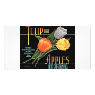 Tulip Apples Photo Greeting Card