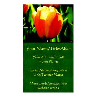 Tulip Art Business Card