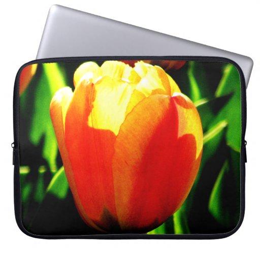 Tulip Art Computer Sleeves