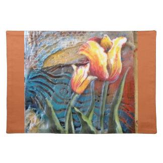 Tulip Art Placement Placemat
