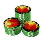 Tulip Art Poker Chip Set