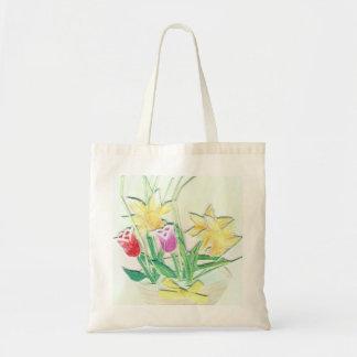 Tulip Basket Bag