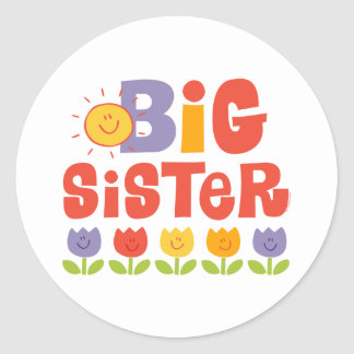 Tulip Big Sister Stickers