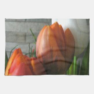 Tulip blooms American Mojo Kitchen Towel