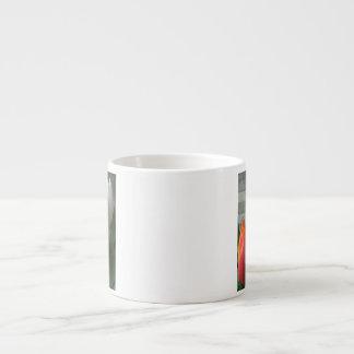 Tulip blooms espresso mug