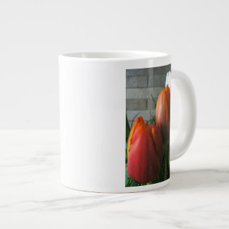 Tulip blooms jumbo mug