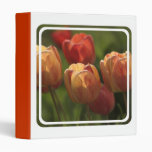 Tulip Blossoms Binder