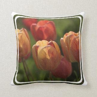 Tulip Blossoms Pillow
