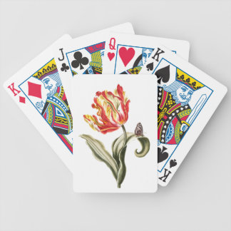 Tulip Butterfly Garden Playing Cards
