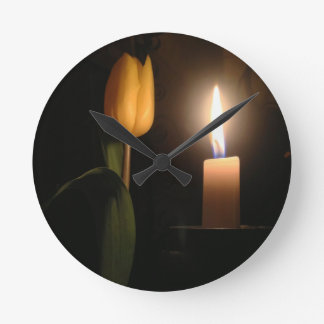 Tulip by Candlelight Wallclocks