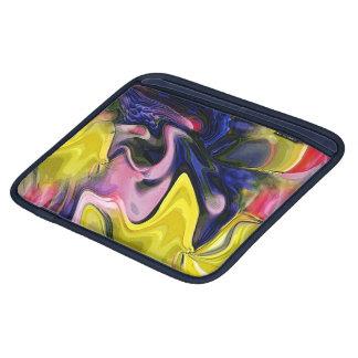 Tulip Colors Abstract iPad Sleeve