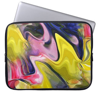 Tulip Colors Abstract Laptop Travel Sleeve Laptop Sleeves