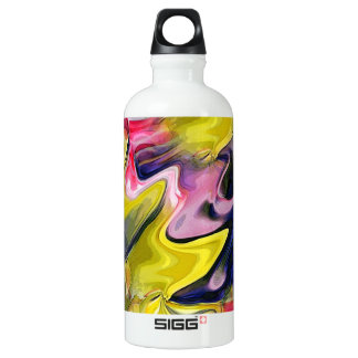 Tulip Colors Abstract Liberty Aluminum Water Bottle