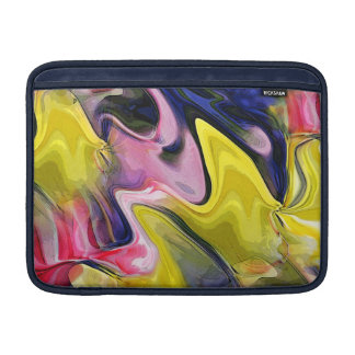 Tulip Colors Abstract MacBook Air Sleeve