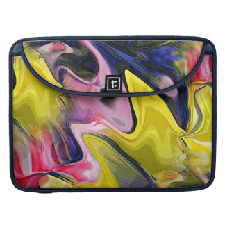 Tulip Colors Abstract MacBook Pro Sleeve