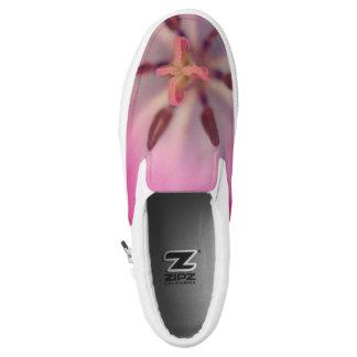 Tulip Custom Zipz Slip On Shoes Printed Shoes