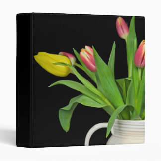 Tulip Delight 3 Ring Binder