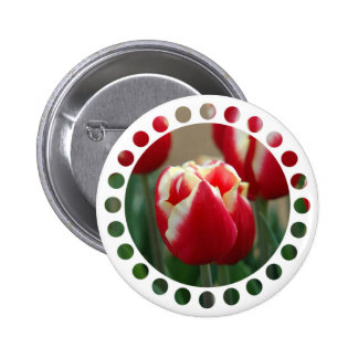 Tulip Design Button