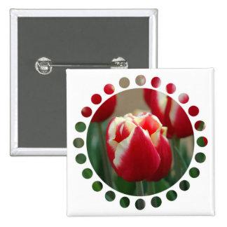 Tulip Design Pin