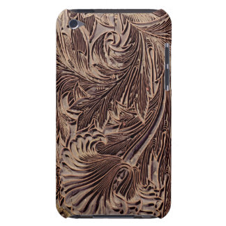Tulip design printing block, 1875 (carved wood) Case-Mate iPod touch case