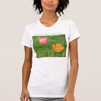 Tulip Duo, Grandmothers Make The World Grand T-Shirt