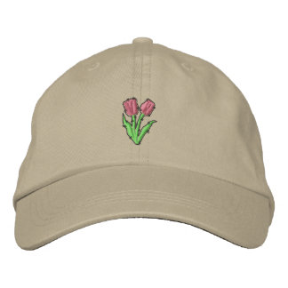 Tulip Embroidered Baseball Hat