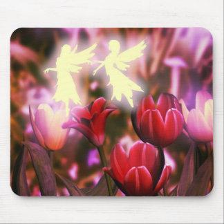 Tulip fairy dance mousepad