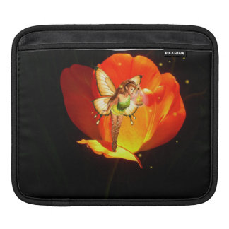 Tulip fairy night light iPad sleeve