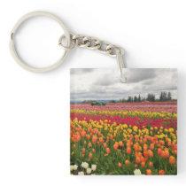 Tulip Farm Keychain