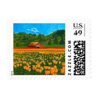 Tulip Farm Postage