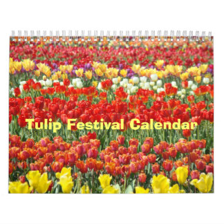 Tulip Festival Calendars Office Holiday gifts